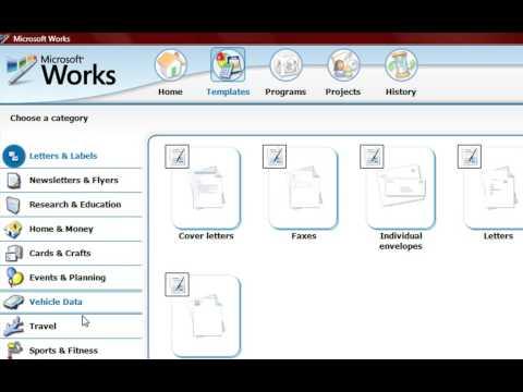 Episode 038 Microsoft Works Task Launcher
