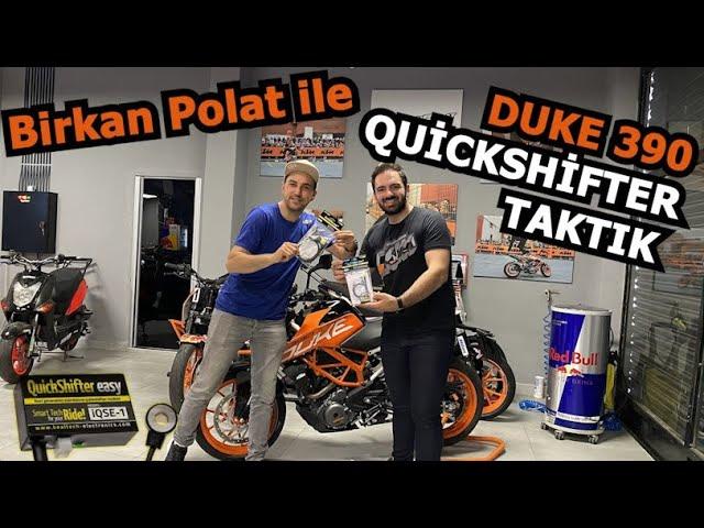 Duke 390 QuickShifter Taktık // HealTech QuickShifter Nedir ?