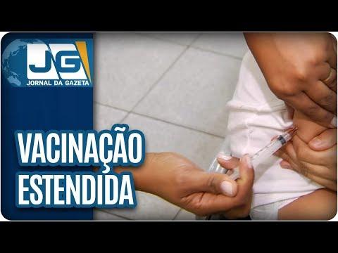 Secretaria de Saúde/SP estende vacinação contra febre amarela