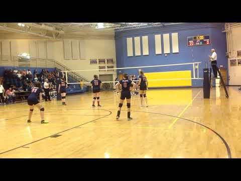 Shady Spring Middle School Varsity 2018 Match 8