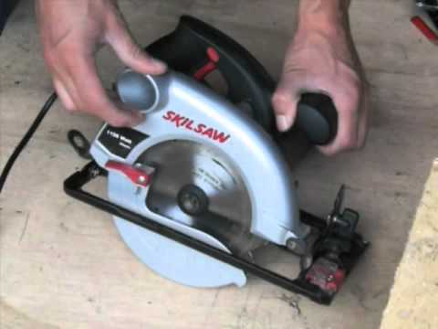 scie circulaire skilsaw 1150 watts youtube. Black Bedroom Furniture Sets. Home Design Ideas