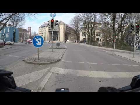 Gopro Heimradler - Mit GoPro Hero 5 mit Fahrrad durch München