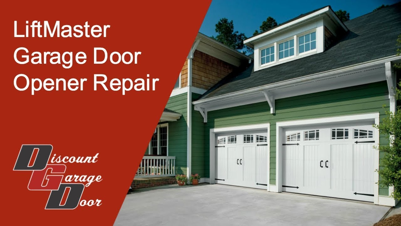 Liftmaster Garage Door Opener Repair Tulsa Youtube