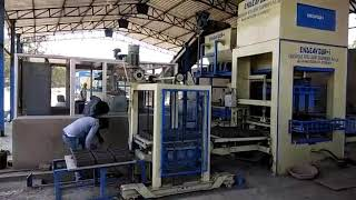 Fully Automatic Fly Ash Brick Plant with Automatic Batching System & Automatic Pallet Stacker