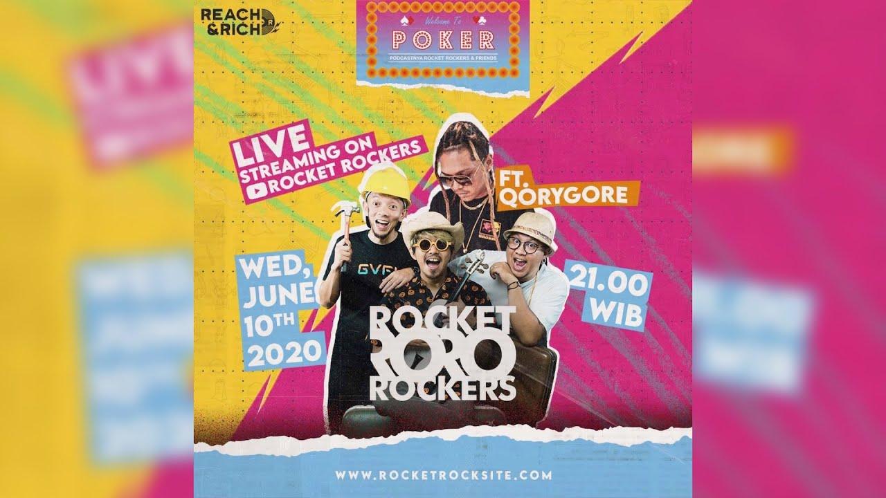 [LIVE] POKER EPS.13 FT. QORYGORE (PODCASTNYA ROCKET ROCKERS & FRIENDS)