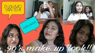 90's FULL FACE MAKE UP | Densy A | PHILIPPINES 💕