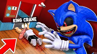 Evil SONIC.EXE but it's SCARY ELEVATOR 2 in ROBLOX!!