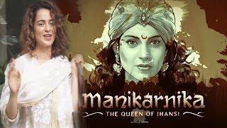 Queen Kangana Ranaut Reveals Manikarnika Movie Trailers Release Date