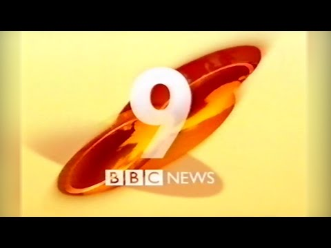 Last Ever 9 O'Clock News on BBC One - 13/10/2000