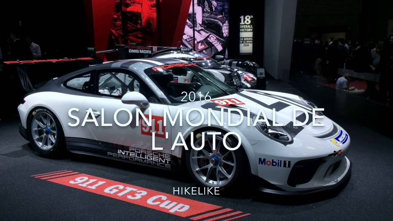 salon mondial de l 39 automobile 2016 paris porte de versailles youtube. Black Bedroom Furniture Sets. Home Design Ideas