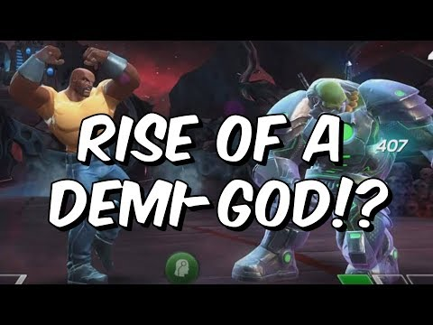 Luke Cage Smackdown - Rise Of A Demi God?! - Marvel Contest Of Champions