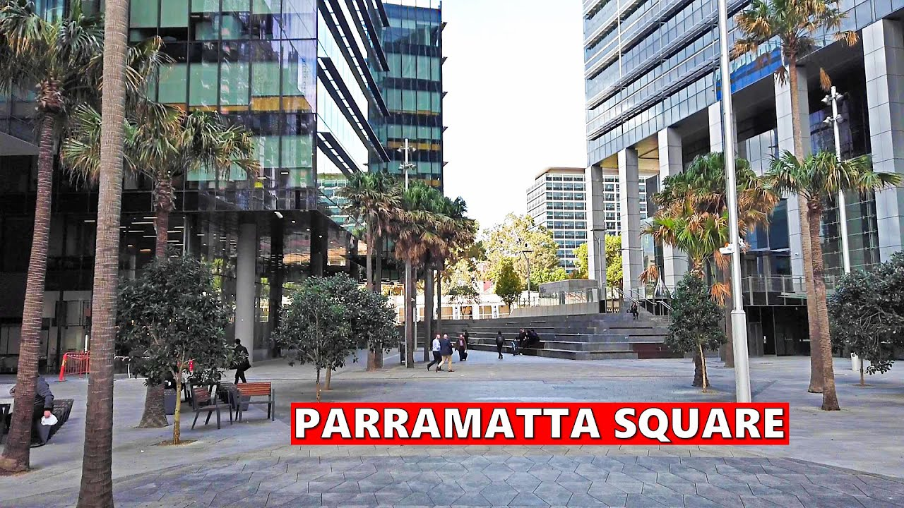 PARRAMATTA SQUARE, Parramatta City Sydney Australia | Walking From Parramatta Station To Church St