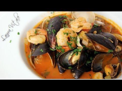 Homemade Cioppino Recipe - Laura Vitale - Laura In The Kitchen Episode 263