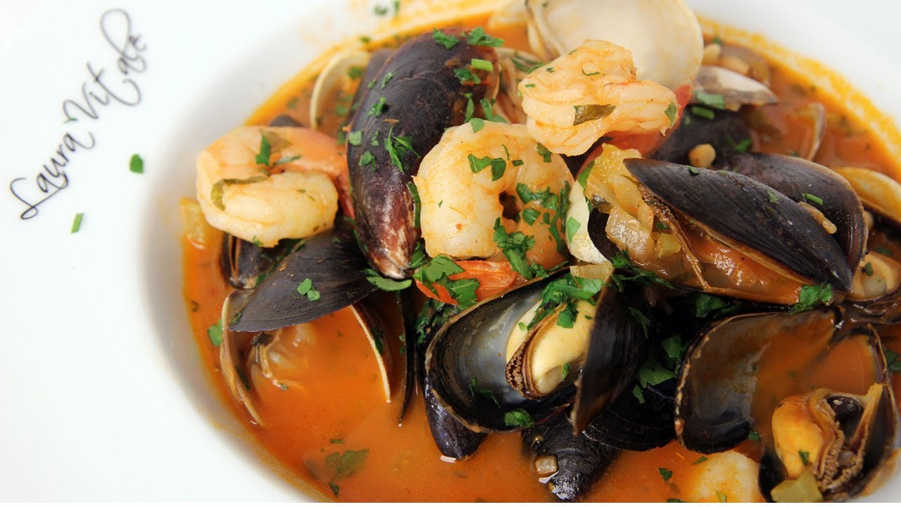 Cioppino Recipe Laura In The Kitchen Internet Cooking Show