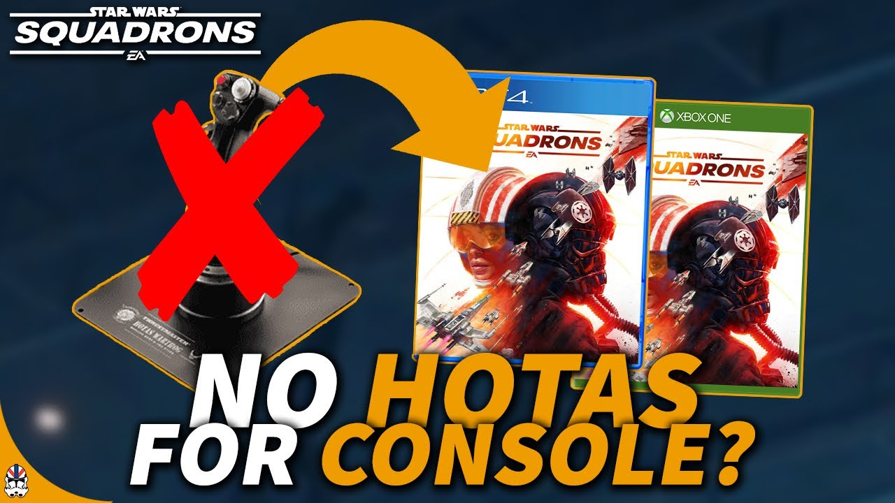 HOTAS Possibly Not Coming For Consoles & Why This Is Bad! | Star Wars Squadrons News Update
