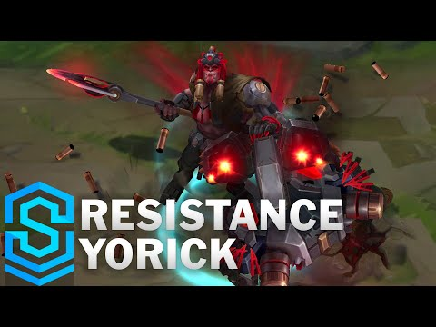Resistance Yorick Skin Spotlight - Pre-Release - League of Legends