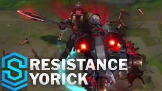 Resistance Yorick Skin Spotlight - Pre-Release - League of Legends