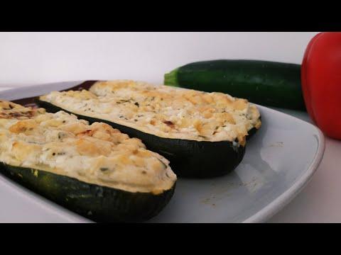 recette-de-courgettes-au-four-et-farcies
