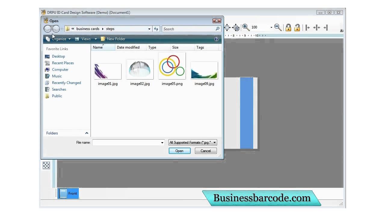 Free Business Company School Student Id Identity Card Maker Designer Designing Creator Software Youtube