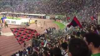 ConquistiamolA ! Bologna - Pescara playoff 2015 - tifo Bolognese