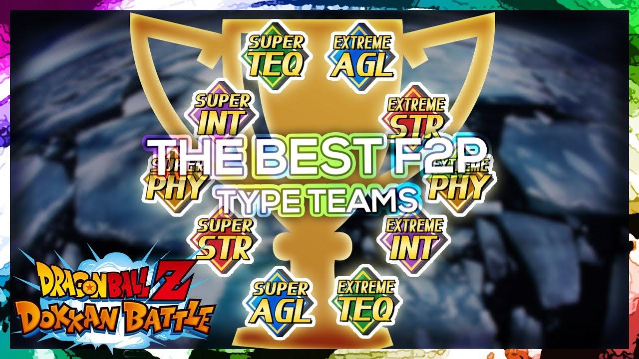 Repeat RANKING BEST F2P 'SUPER' & 'EXTREME' TYPE TEAMS | DBZ Dokkan