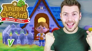 MA MAISON 🏠 DEVIENT PALACE 🏰 !! - ANIMAL CROSSING NEW LEAF #5