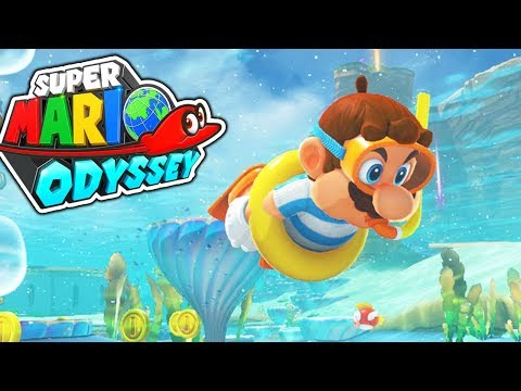 THE WATER LEVEL! (Super Mario Odyssey) #4
