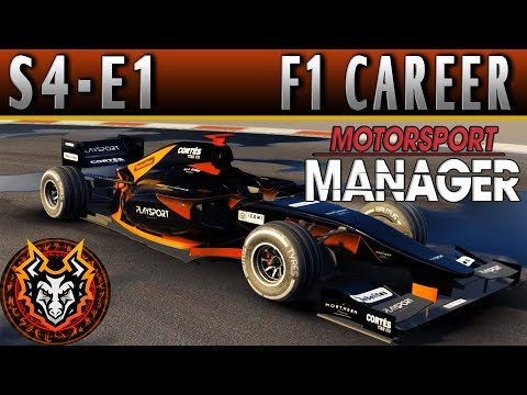 Motorsport Manager F1 Career S4E1 - THE ROAD TO THE ASIA PACIFIC!