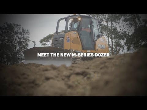 More strength. More command. More done. Meet the M Series Dozer.