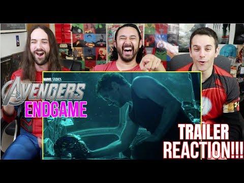 Marvel Studios AVENGERS: ENDGAME - Official TRAILER REACTION!!!