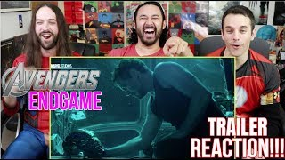 Marvel Studios' AVENGERS: ENDGAME - Official TRAILER REACTION!!!