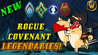 NEW Rogue Covenant Legendaries!? (Shadowlands 9.1 Rogue Legendary Overview)