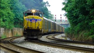 CSX freight trains of the Baltimore terminal