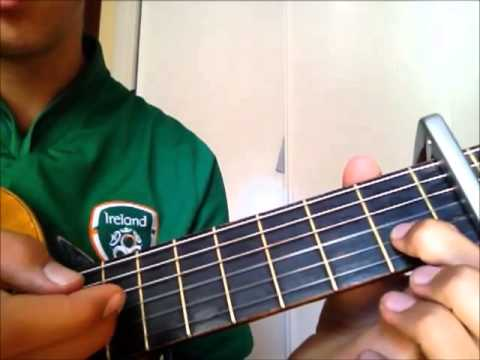 Titanium Intro Tutorial By David Guetta On Classical Guitar With
