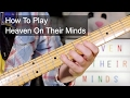 'Heaven On Their Minds' Jesus Christ Superstar Guitar Lesson