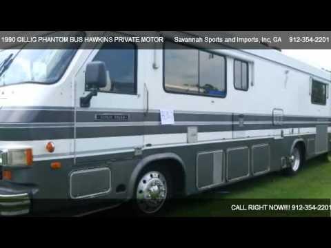 1990 Gillig Phantom Bus Hawkins Private Motor Coach For