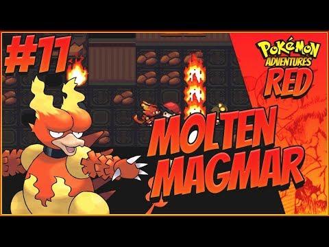 MOLTEN MAGMAR! - Pokemon Adventures: Red Chapter Part 11 | BETA 13