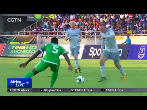 Rooney scores first goal on Everton return against Kenya's Gor Mahia