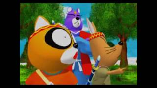 Intro sequence from Ninpen Manmaru, developed by TamTam and released in 1997 for the Sega Saturn by Enix.