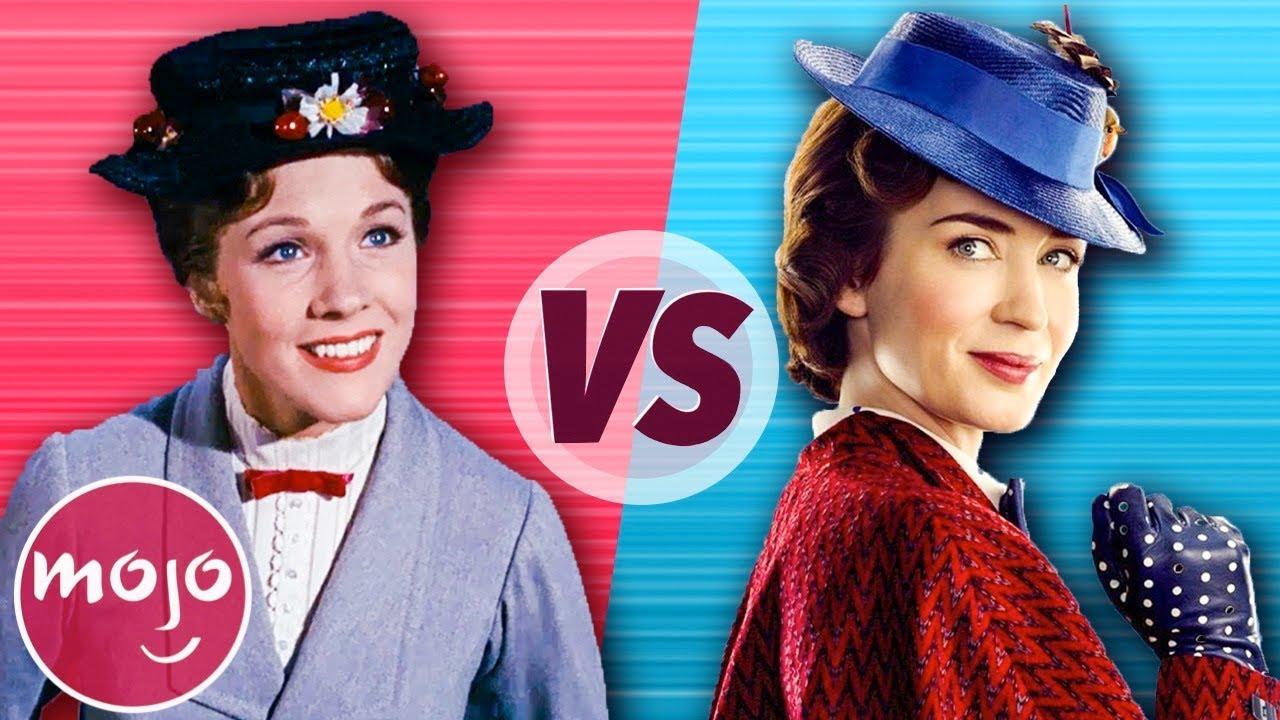 Mary Poppins 1964 Vs Mary Poppins Returns 2018 Youtube