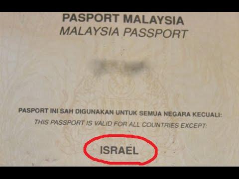 malaysia passport boycotts israel  thank you    youtube  rh   youtube com