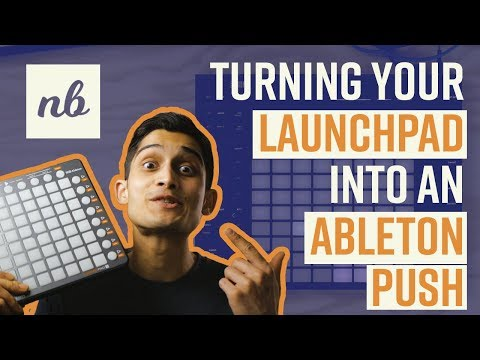 Turning my LAUNCHPAD into an ABLETON PUSH!! (using nativeKONTROL's Arsenal software)