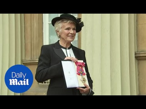 Actress Julie Walters named Dame Commander at Buckingham Palace - Daily Mail