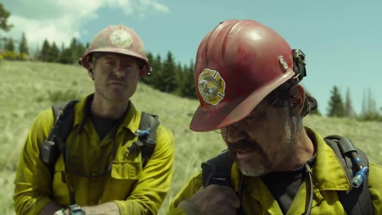 Ver Sólo valientes Pelicula Bomberos forestales en Español