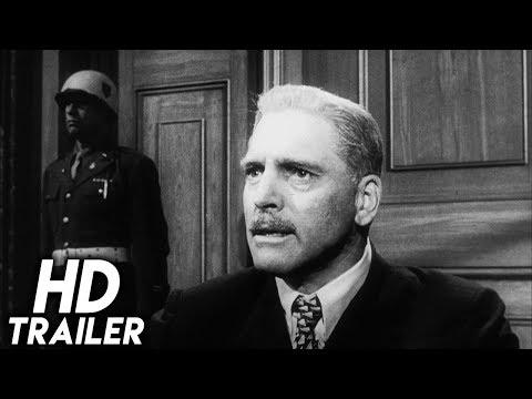 Judgment at Nuremberg (1961) ORIGINAL TRAILER [HD 1080p]