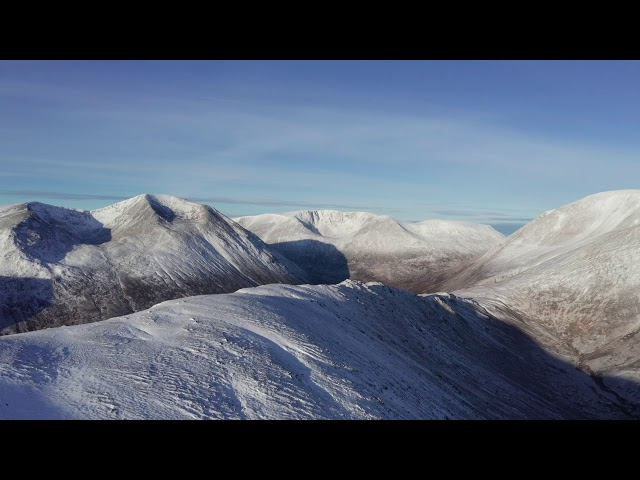 Carn a'Mhaim and the Lairig Ghru: The Cairngorms