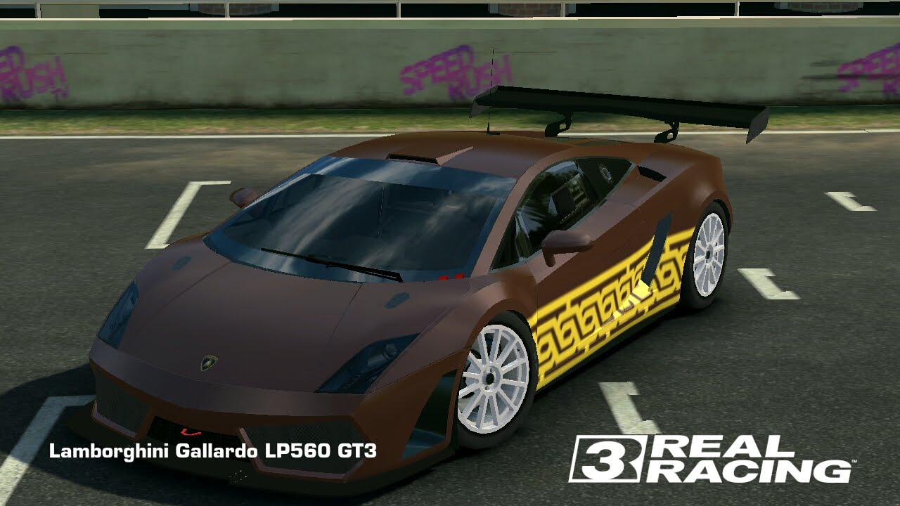 REAL RACING 3//Lamborghini Gallardo LP560 GT3