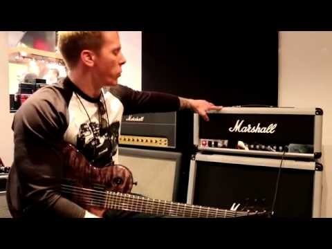 NAMM 2015 - MARSHALL - 50th Anniversary Silver Jubilee Re-Issue (SLASH bought the other amp!)