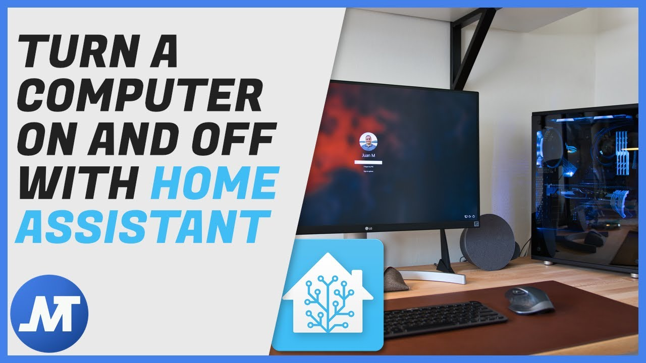 Use Home Assistant to turn your computer on and off