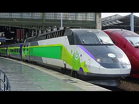 TGV, Train IZY - Thalys low cost à Paris Gare du Nord